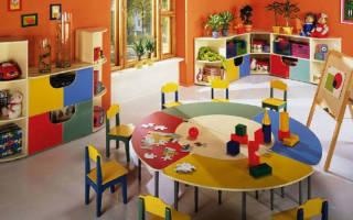 Купить мебель для детского сада в Москве