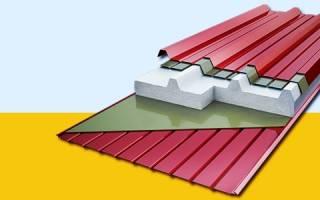 Стеновые и кровельные сэндвич панели для строительства промышленных объектов