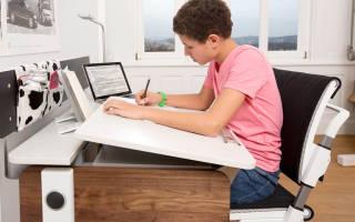 Выбор и покупка письменного стола для школьника