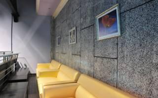 Декоративные шумоизоляционные панели для стен квартиры