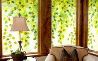 Декоративное окно на стене своими руками