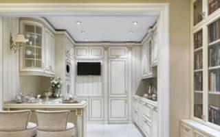 Кухня в стиле неоклассика фото интерьер