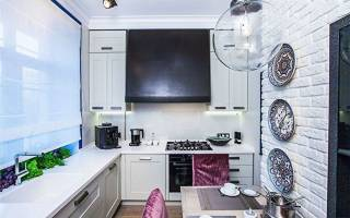 Кухня 9 квадратных метров дизайн