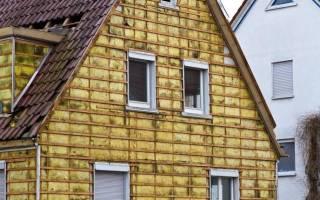 Как утеплить стены снаружи в частном доме