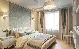 Дизайн проект спальни 20 кв м