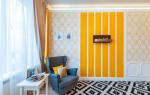 Дизайн комнаты разные обои