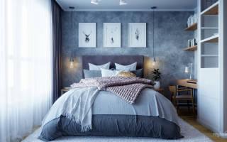Дизайн спальни 13 метров