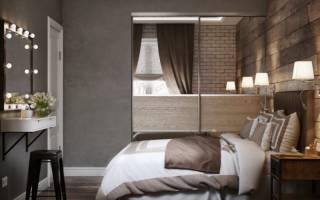 Дизайн окон в спальне хрущевки