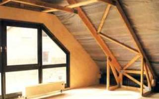 Как правильно сделать мансардную крышу?