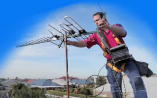 Как поставить антенну на крышу дома?