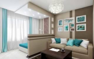 Дизайн зонирования комнаты на спальню