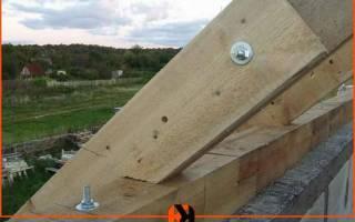 Как крепить мауэрлат к кирпичной стене, крепеж для керамзитобетонных блоков