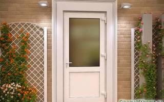 Дизайн пластиковых дверей