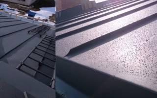 Ттк устройство фальцевой металлической кровли: фальцованная крыша