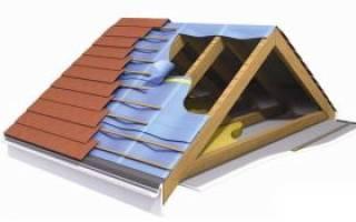 Как правильно сделать крышу из профнастила?