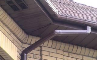 Подшивка свесов крыши софитом: отделка карниза сайдингом