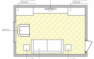Современный интерьер гостиной 18 кв м
