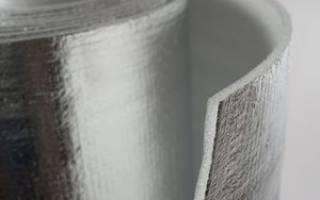 Фольгированный теплоизоляционный материал – утеплитель из фольги