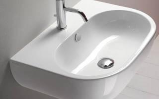 Как крепить раковину в ванной к стене