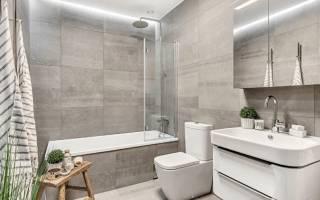 Интерьер ванной комнаты фото в современном