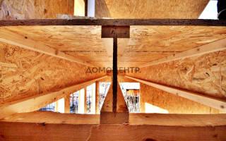 Деревянный двутавр для перекрытий: двутавровая балка из ОСБ