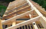 Крыша двухскатная своими руками с фронтонами