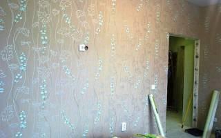 Идеи оклейки стен разными обоями