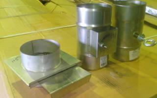 Шиберная заслонка для дымохода – установка задвижки в печи, видео