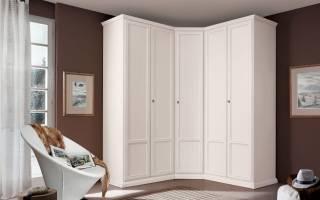 Дизайн комнаты с угловым шкафом