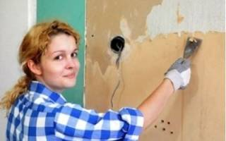 Как снять фотообои со стены