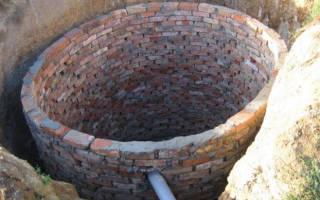 Как построить выгребную яму в частном доме?