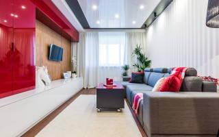 Дизайн интерьера гостиной спальни 18 кв м