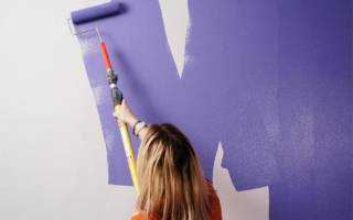 Как правильно красить стены акриловой краской