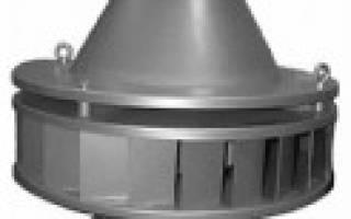 Крышный шумоизолированный – вентилятор на крышу