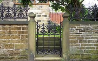 Проекты заборов для загородных домов фото, красивые ограды