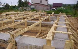 Как правильно сделать фундамент для дома?