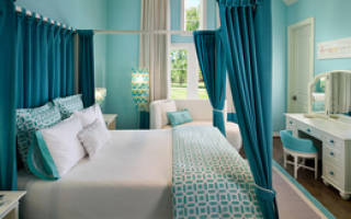 Дизайн комнаты серо бирюзовый