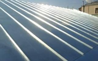 Как делать фальцевую крышу из железных листов – работа с оцинковкой