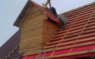 Утепление крыши из металлочерепицы изнутри