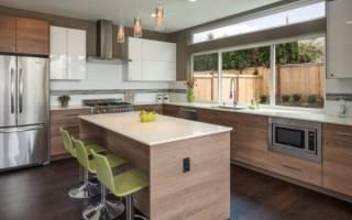 Кухня буквой г дизайн