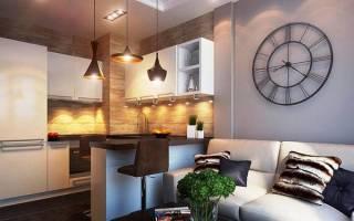 Дизайн интерьера квартиры 50 кв м