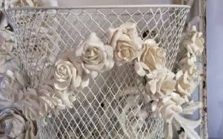 Лепнина на стене своими руками цветы