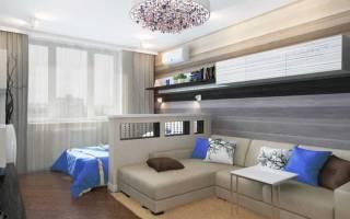 Дизайн квадратной комнаты 18