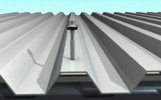 Как правильно закрепить профнастил на крыше саморезами – крепление профлиста