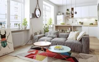 Дизайн интерьера квартиры в скандинавском