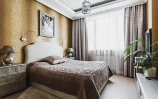 Дизайн современной классической спальни