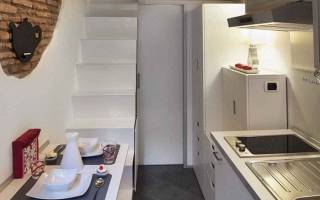 Кухня 7 5 кв м дизайн