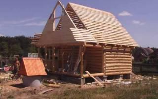 Как правильно зашить фронтон деревянного дома?