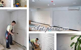 Гипсовые 3д панели для стен своими руками