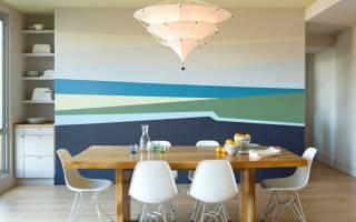 Дизайн окраски стен